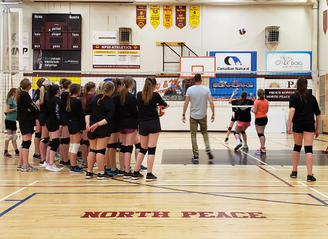 The Northern British Columbia Volleyball Club used their recent GO Fund grant to hold a free community volleyball camp, led by a national level coach. In total, 68 youth between the ages of 12 – 17 participated in the camp.