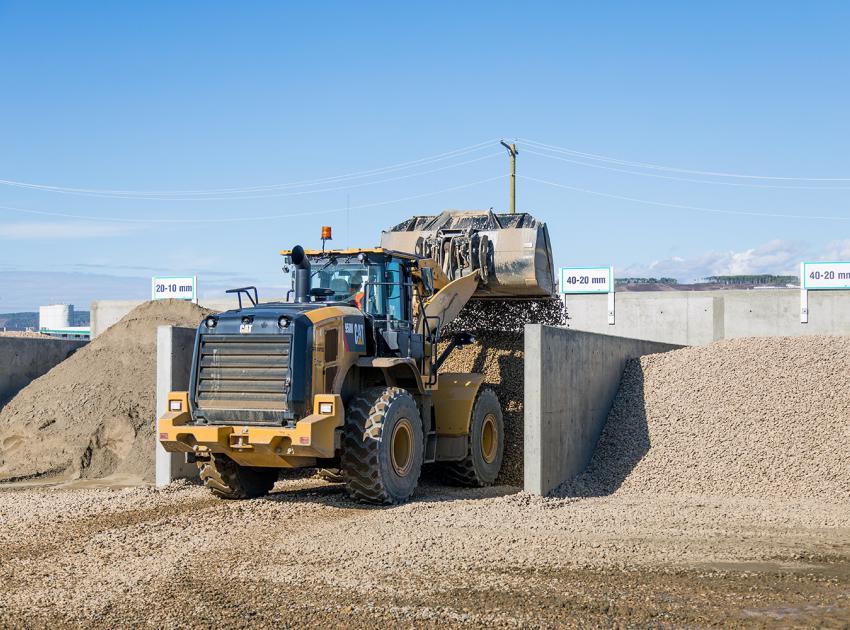 Sorting and storing aggregates (September 2018)