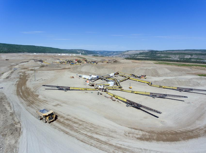 South bank phase 2 crusher (May 2018)