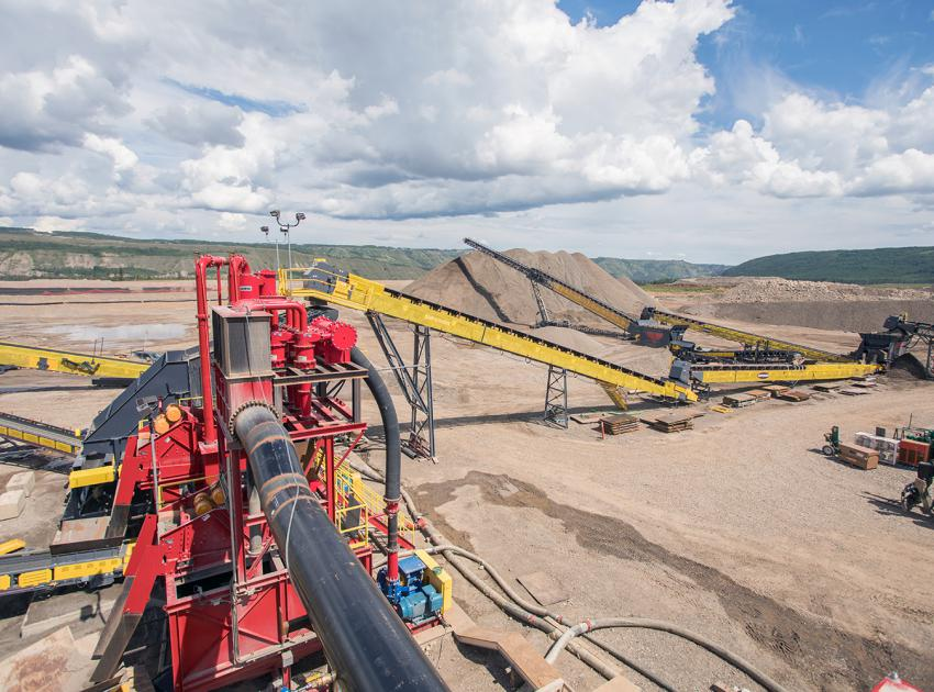 South bank phase 2 crusher (June 2018)