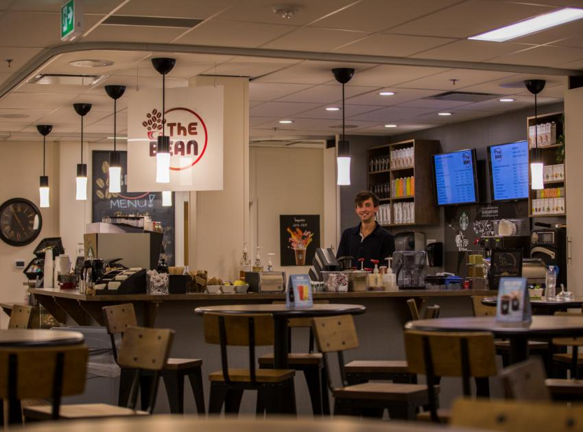 The Bean coffee bar. (September 2016)